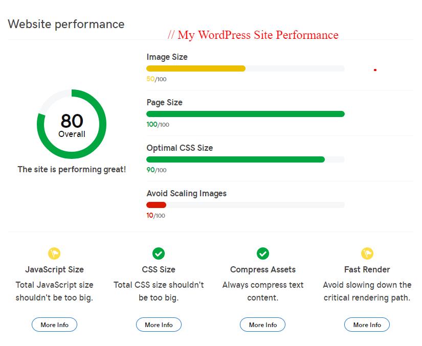 GoDaddy WordPress Hosting Review performance checker