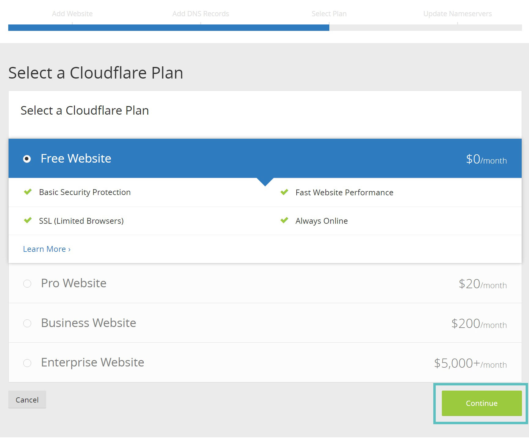 Setup Free And Premium CloudFlare CDN on WordPress Site
