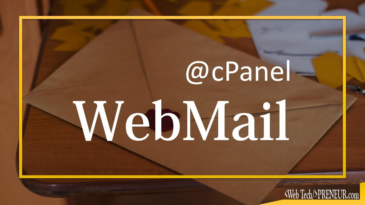 webmail Web Tech Preneur cPanel