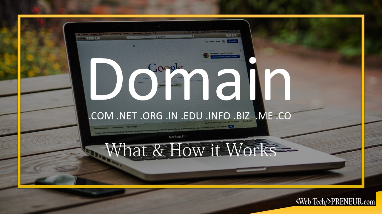 what is domain name web tech preneur