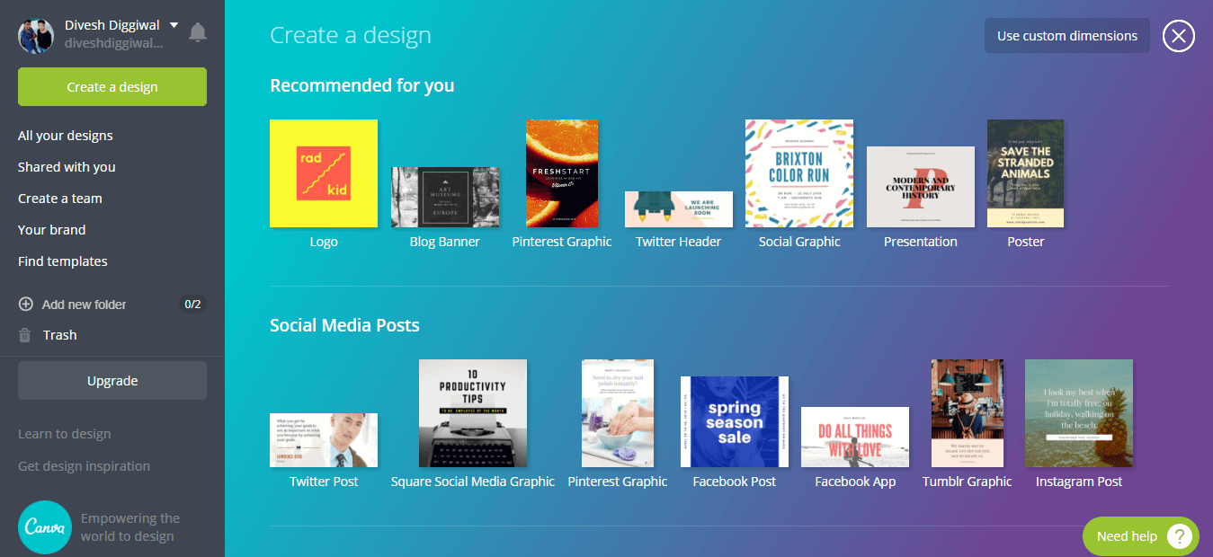 Innovative Graphic Design Tools For Your Blog & Social Media