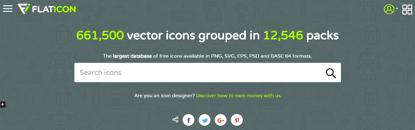 Free Icon Websites for Personally or Commercial Use