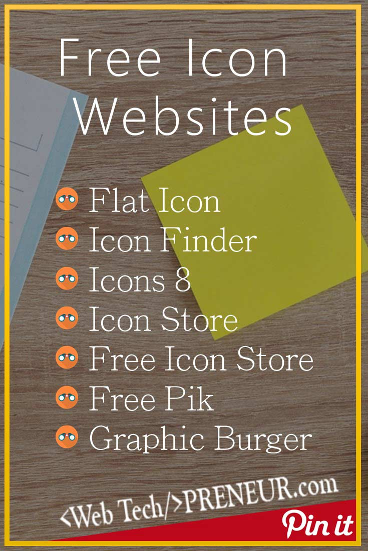 7 Free Icon Websites for Personal or Commercial Use