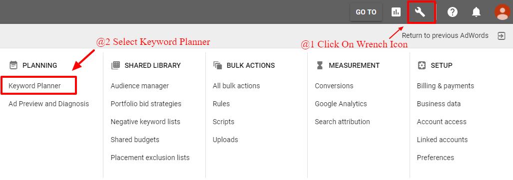 Google Keyword Planner For Bloggers 2018 | Keyword Research Tool