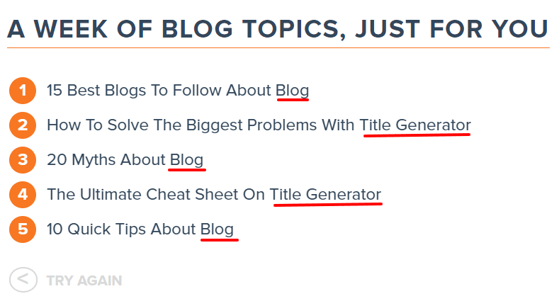 catchy free blog title generator tools