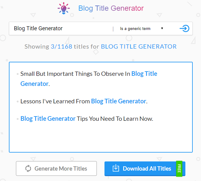 20 Catchy Blog Title Generator for Articles 2019 [++ CTR & Traffic]