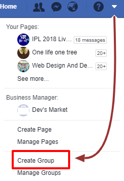 manage and grow facebook group
