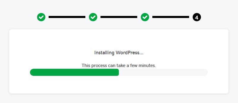 WordPress Installing