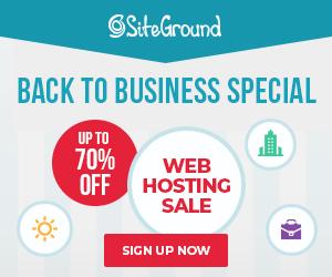 SiteGround 300*250 banner