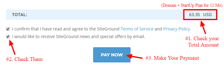 build blog with siteground