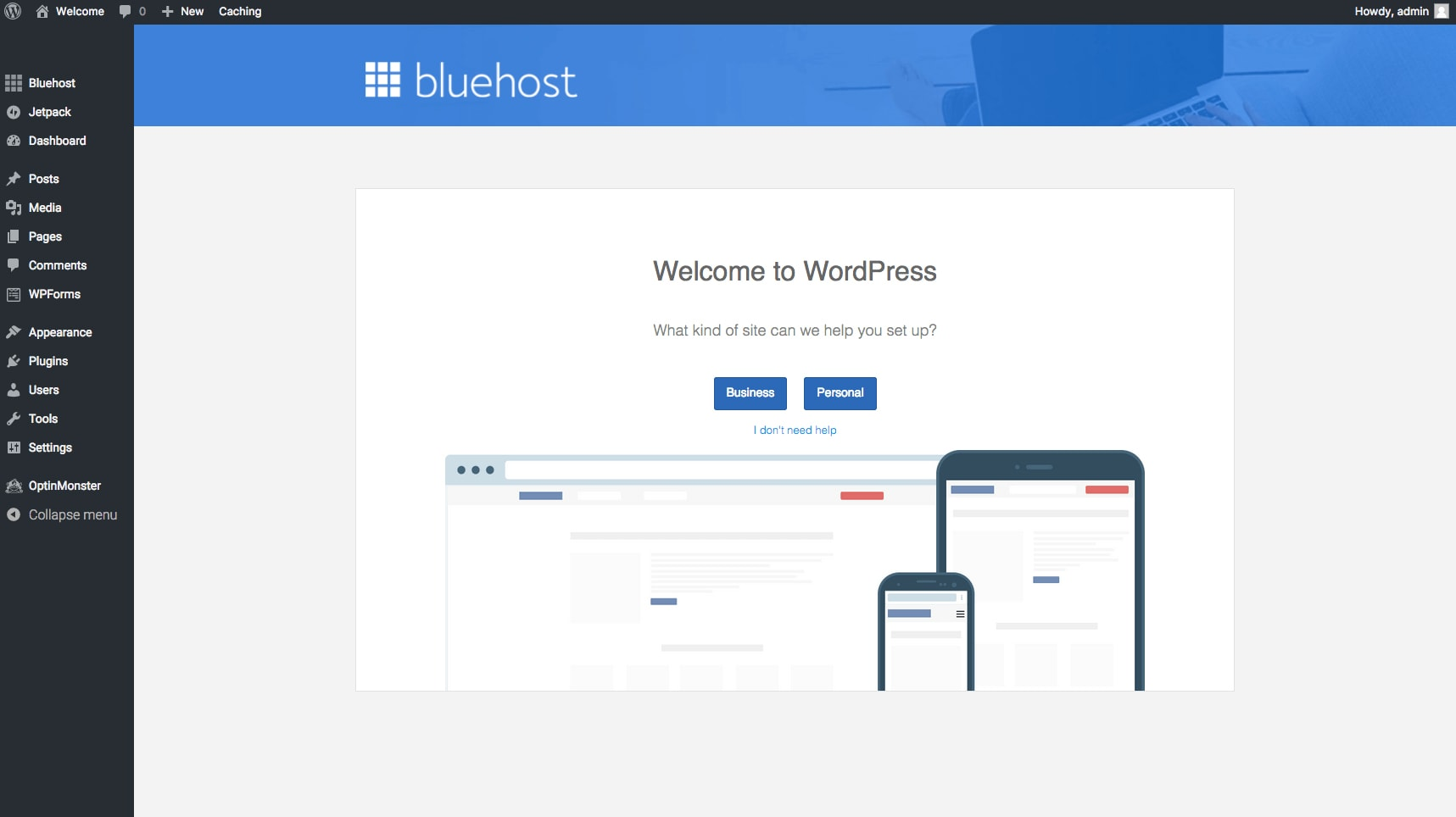 How to start a blog with bluehost hosting