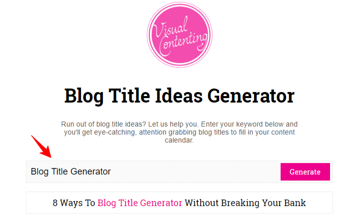 20 Catchy Blog Title Generator for Articles 2019 [++ CTR